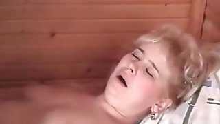 His aunt wakes him up to fuck him