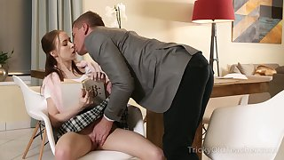 Goody-goody Nata Ocean gets intimate with handsome young tutor