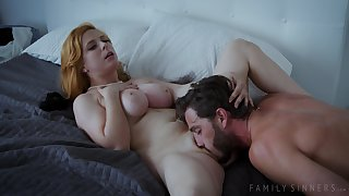 Busty redhead Penny Pax hot sex clip