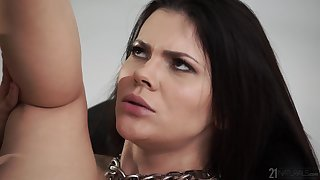 Extremely feminine babe Verona Sky is a sex goddess that loves a good fuck