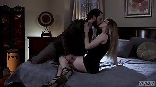 Whore wife Ivy Wolfe is cheating on her husband with one bearded dude