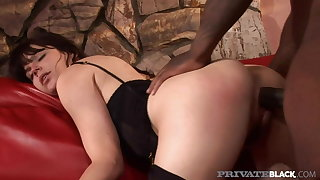 PrivateBlack - Bobbi Starr Is Butt Fucked By Big Black Cock!