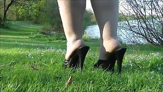 Beautiful fat legs