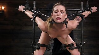 Crazy hardcore BDSM for a clamed kirmess on touching regimen forms
