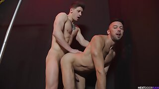 Naked gay porn leads both lovers to crazy anal orgasms