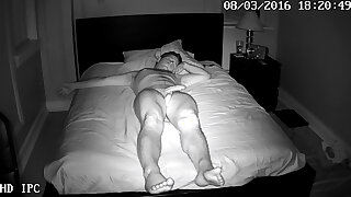 Spycam In violation Naked and Sleeping!!!