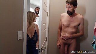 A Room With A Cock - Steve Holmes and cheating PAWG mom Codi Vore on touching reality hardcore