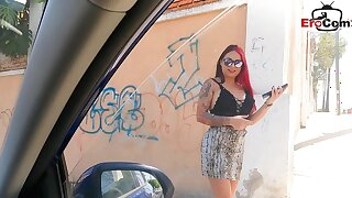 Redhead blowjob pick up from german tourist