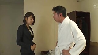Hot ass Japanese chick Harusaki Ryou knows how nearby pleasure a dig up