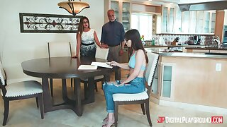 Goody-goody Shae Celestine gets nasty with her boyfriend instead of measures