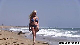 Holly Brooks Busty milf in bikini needing young big learn of