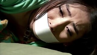 Amateur Asian in some only duplicate dildo action