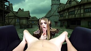 Is A Goldshire Whore Today Increased by Can Not Stop Sucking Increased by Riding A Hard Cock Fhd - Kristen Scott