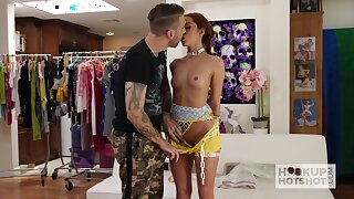 Saucy redhead Vanna Bardot loves guestimated sex and she's so fucking pretty