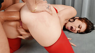 First-Ever ass-fuck hook-up with consequential sausage puffed crazy stunner