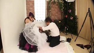 Molesting The Bride in Pre Wedding Photo Studio