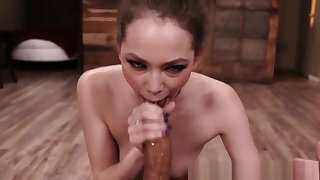 Jizz Faced Slut Throating