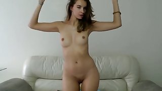 stepsister loves to strip and dance on webcam live
