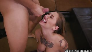 Kleio Valentien gets her pussy banged in all possible poses by a dude