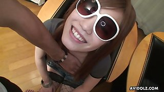 Asuka Hotta is the kind of hoe that wears sunglasses at night and she loves sex